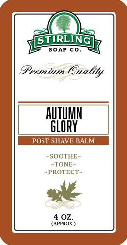 Autumn Glory Aftershave Balm