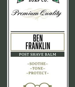 Ben Franklin Aftershave Balm