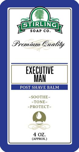 Stirling Soap - Executive Man Aftershave Balm
