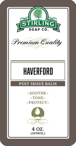 Haverford Aftershave Balm