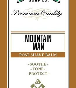 Mountain Man Aftershave Balm