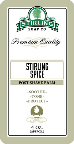 Stirling Spice Aftershave Balm