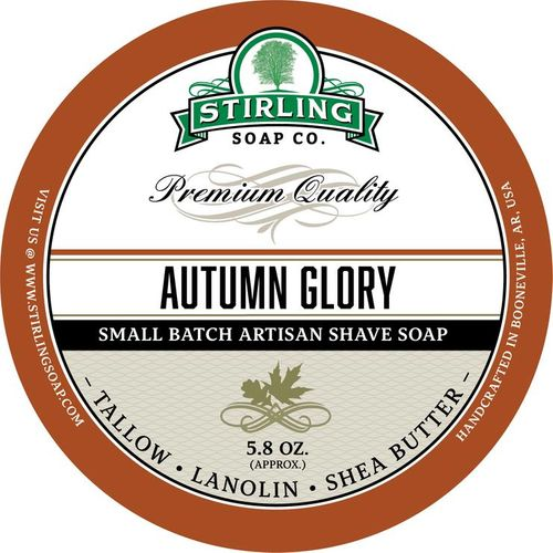 Autumn Glory Shaving Soap