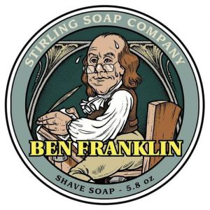 Ben Franklin Shaving Soap