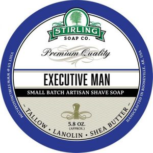 Executive Man Shaving Soap