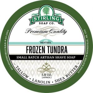 Frozen Tundra Shaving Soap