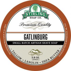 Gatlingburg Shaving Soap