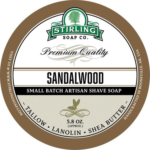 Sandalwood Shaving Soap
