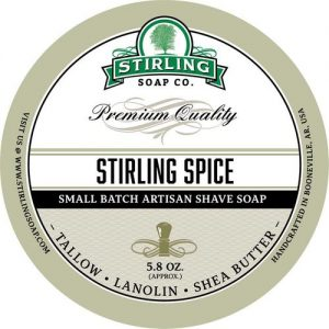 Stirling Spice Shaving Soap