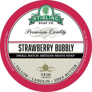 Strawberry Bubbly Shaving Soap